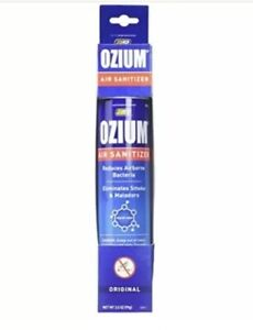Ozium Glycol-Ized Professional Air Sanitizer / Freshener Original Scent, 3.5 oz.