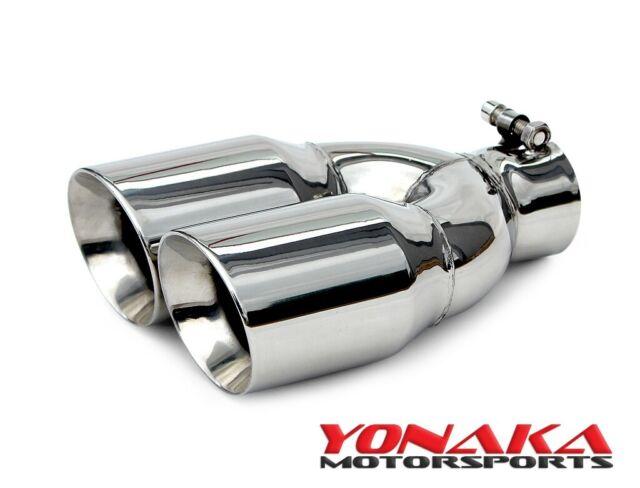 yonaka motorsports stainless steel dual exhaust tip ymet001