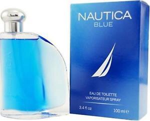 NAUTICA BLUE by Nautica 3.4 oz Cologne for Men New in Box