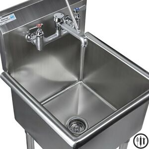 details about stainless steel mop sink service sink faucet and mop accesories 18 x 18