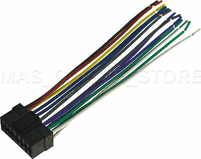 wire harness for sony cdxgt66upw cdxgt66upw pay today ships today  ebay