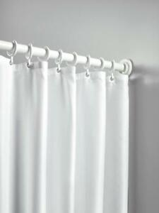 details about shower curtain 20 eyelets in white active by hewi hw 802 34 v0340 290cm x 200cm