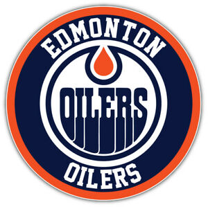 edmonton oilers logo nhl sport car bumper sticker decal sizes ebay