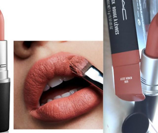 Mac Matte Lipstick Rouge  Kinda Sexy Full Size   Oz