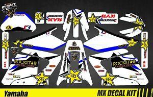 details zu kit deco moto pour mx decal kit for yamaha dt 125 x r rockstar