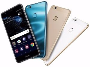 "Huawei P10 Lite WAS-LX1A Dual Sim (FACTORY UNLOCKED) 32GB 5.2"" Black Gold Blue"