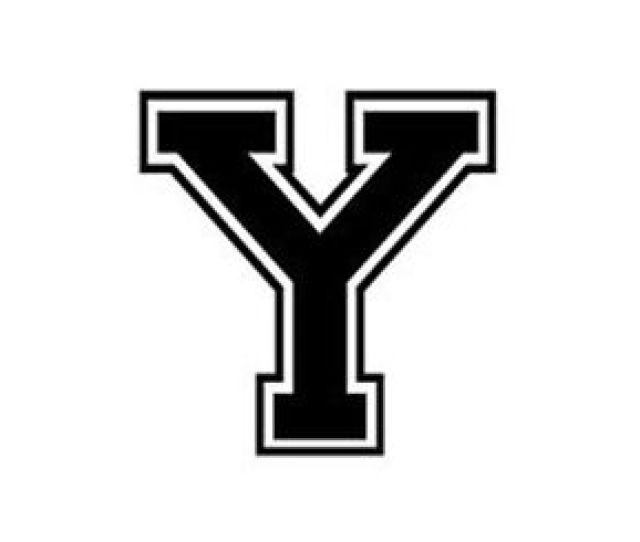 Image Is Loading Varsity College Lettering Letter Y Car Tablet Vinyl