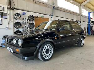 VW Golf GTi Mk2 1.8 20v Turbo Black Small Bumper 1989 (F Reg)