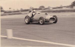 FERRARI CAR No.15, DRIVEN BY LUIGI VILLORESI, 1952 PHOTOGRAPH.