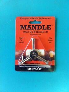 details about mandle the universal valve repair garden faucet hosebib replacement handle