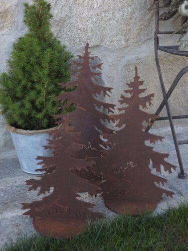 sapins de noel articles pour la maison edelrost arbre sapin decoration jardin terrasse noel advent personnage sculpture