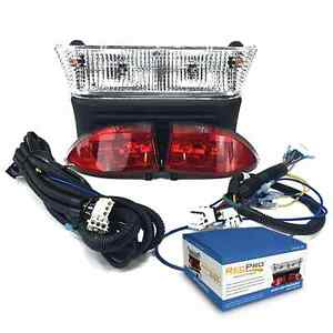 Club Car Precedent Electric Light Kit w LED Tail lights