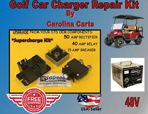 Club Car PowerDrive Battery Charger Repair Kit Golf Cart