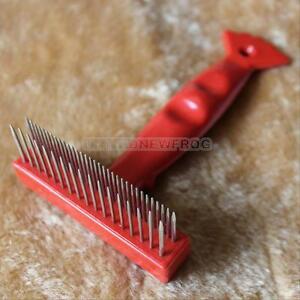pet fur shedding remove grooming rake b brush dog cat long short thick hair ebay
