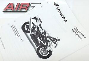 2003 Honda CBR600RR CBR 600 F4i Set Up Instructions Manual