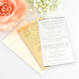 Custom Engraved Acrylic Wedding