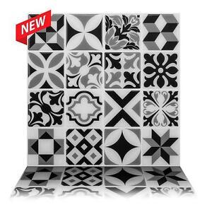details zu tic tac tiles premium 3d peel stick wall tile in moroccan mono 10 sheets