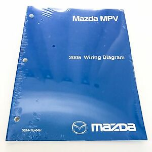 [NEW] 2005 Mazda MPV Minivan Factory OEM Wiring Diagram