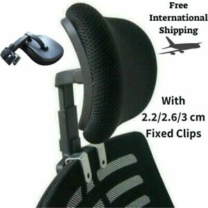 details about adjustable headrest for office swivel chair ergonomic head neck support pillow