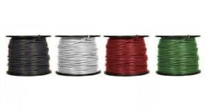 4 Awg Thhn Thwn 2 Stranded Copper Building Wire 600v