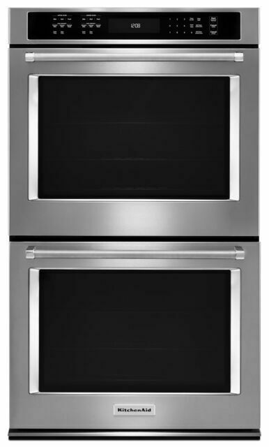 kitchenaid kode500ess builtsteel wall convection microwave oven