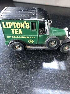 LIPTON TEA vintage metal model car EXCELLENT example