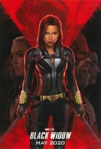 details zu the black widow poster scarlett johansson 2020 movie film marvel comics