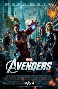 details zu the avengers movie poster b 11 x 17 inches avengers poster