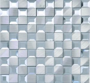 details about mirror aluminum sliver mosaic tile on mesh 12x12 sheet backsplash shower bath