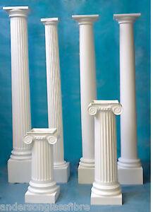 details about fibreglass column pillars columns porch canopy
