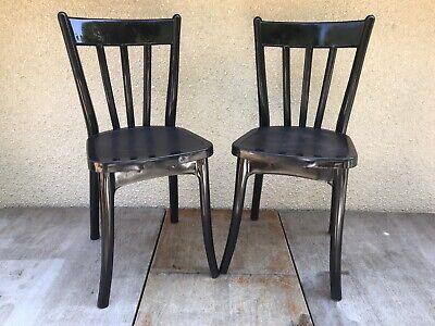 paire de chaise ancienne grosfillex modele 25631 plastique noir france vintage ebay