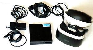 Sony Playstation Vr Brille Headset Ps4 Virtual Reality Psvr 4 V1 Ebay