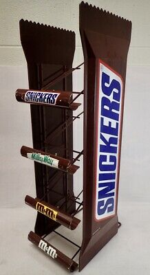 large vintage snickers 4 tier candy display retail rack 26 ebay
