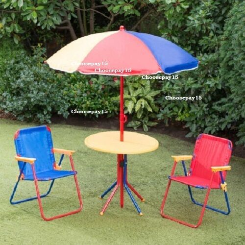 loungemobel sitzgruppen 4 piece children s patio set with compact easy folding storage free delivery garten terrasse tppm com tr