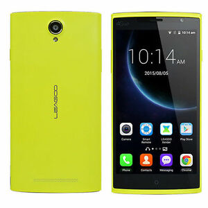 "Original Yellow LEAGOO Elite 5 Smartphone 5.5"" Quad Core 2GB+16GB 13MP+8MP"