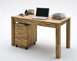 Schreibtisch Eiche Massiv Geölt 2021