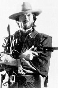 details zu clint eastwood guns poster 24x36 shrink wrapped outlaw josey wales 2858