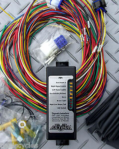 Image Is Loading Ultima Complete Electronic Wiring Sys Harness Harley Tri