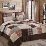 100 Cotton Plaid Quilt Comforter Children S Bedspread Set Train Patchwork Twin For Sale Online Ebay