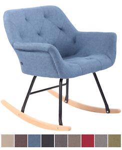 details sur chaise bascule cabot tissu fauteuil bascule confortable chaise design relaxante