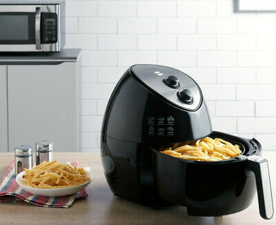 Farberware #554023059 OIL-LESS FRYER Multi-Functional Air Fryer, Black  848052003163 | eBay