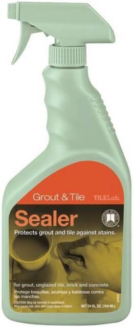 tilelab tlps24z grout and tile sealer 24 oz