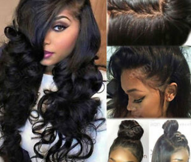 Image Is Loading 4 4 Silk Top Full Lace Human Hair