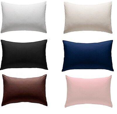 extra large polycotton pillow cases 22 x 31 1 pair ebay