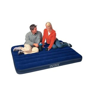 La Foto Se Está Cargando Intex 68758 Downy Full Airbed Inflatable Size
