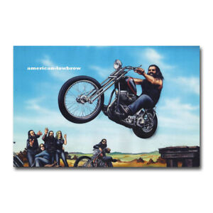 details about david mann ghost rider canvas silk poster wall art home decor print 12x18 inch