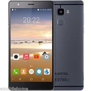 "OUKITEL U13 5.5"" 4G Smartphone Android MTK6753 Octa Core 3GB+64GB Touch ID FOTA"