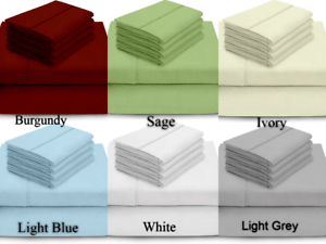 details about my giza pillow dream bed sheets set 100 giza long egyptian cotton multi size
