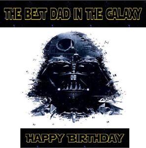 Handmade Personalised Star Wars Birthday Card Brother Son Husband Dad Any Age Ebay
