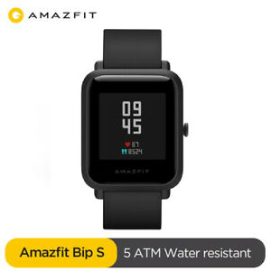 New Amazfit Bip S Smart Watch Heart Rate Fitness Monitor GPS Waterproof Band